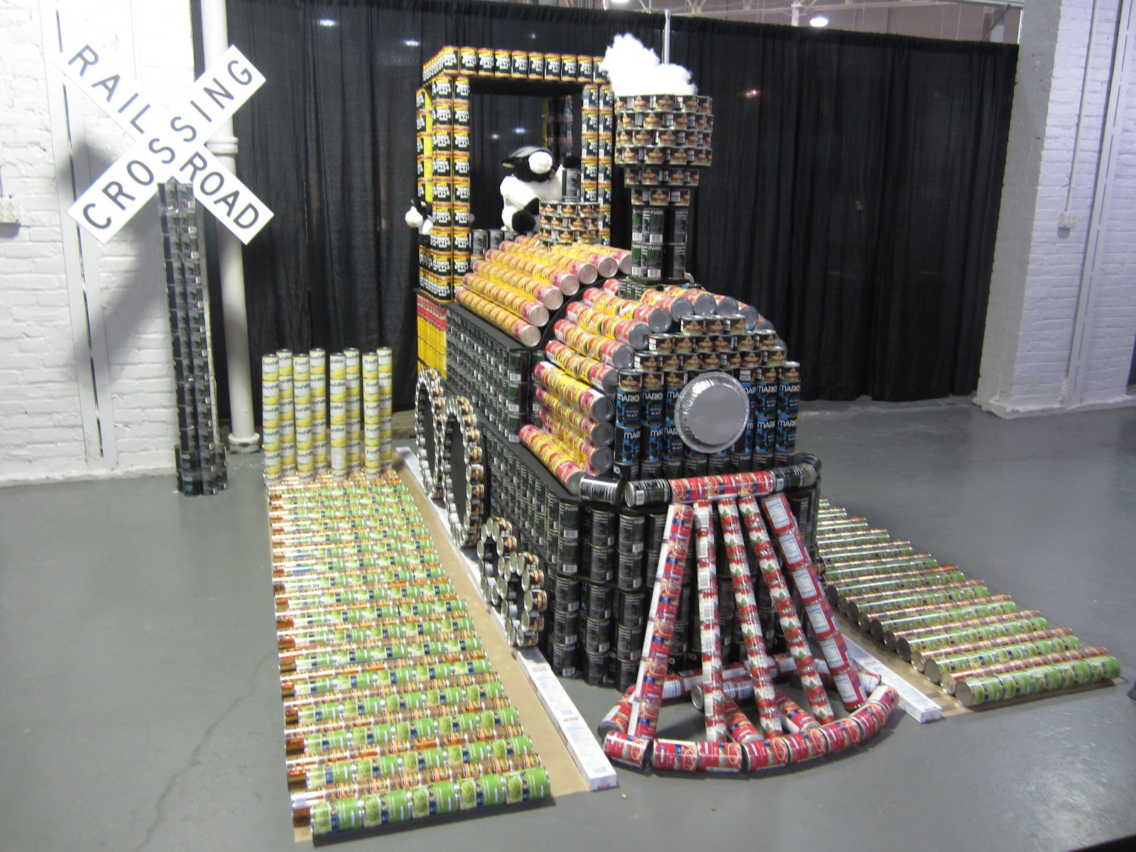 Beer Can Train