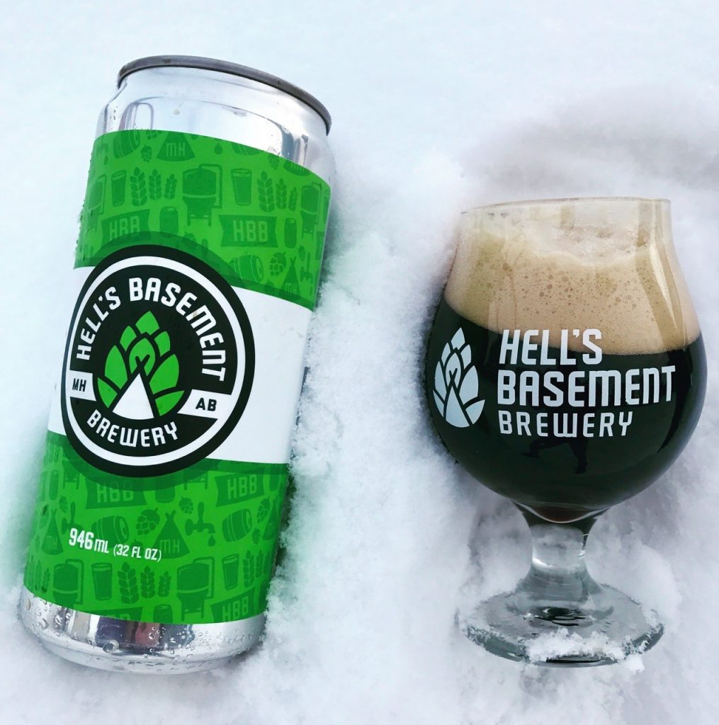 Hell's Basement Ghost Train Oatmeal Stout