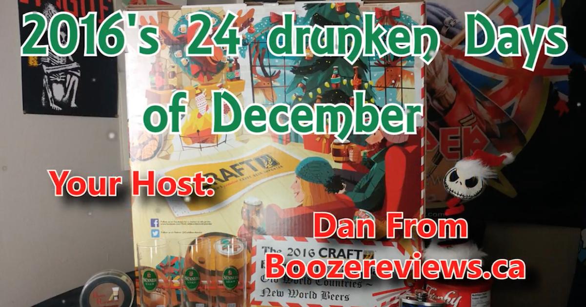 VIDEO: 2016 Craft Beer Advent Calendar Review