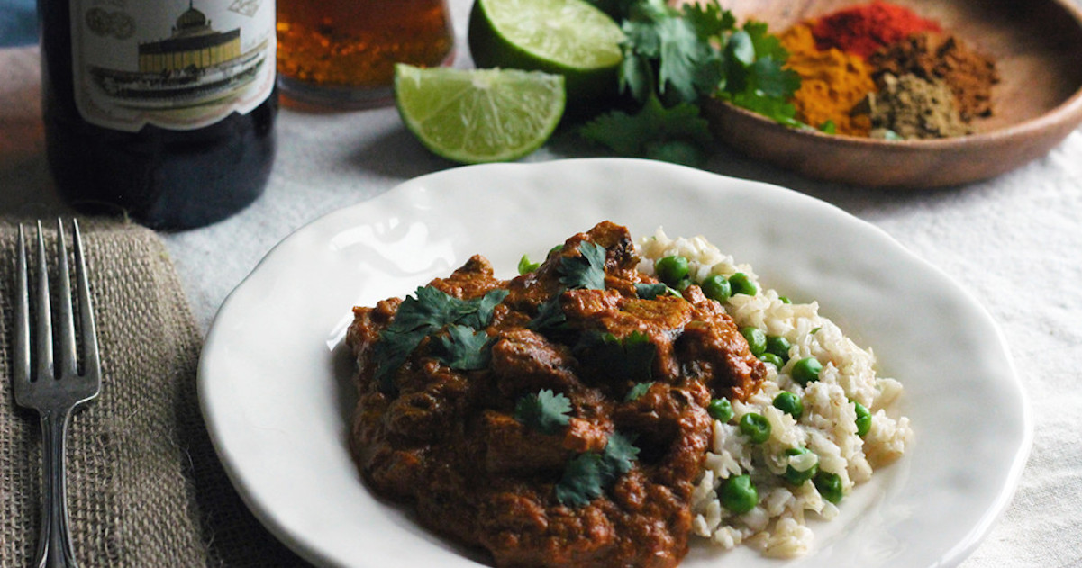 English Porter Chicken Tikka Masala