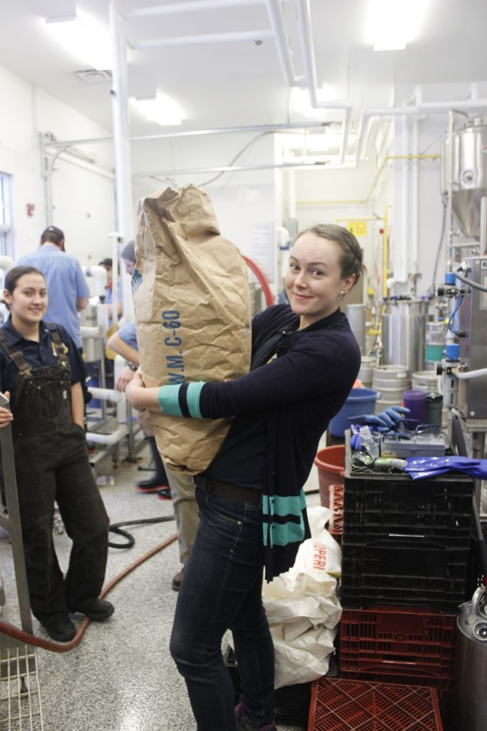 Marian Brewing at Big Boots Brew at Olds College
