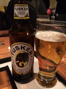 Pic of Tusker front bottle