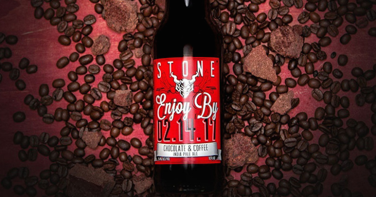 A New Valentine's Day Beer: Enjoy By 02.14.17 by Stone Brewing