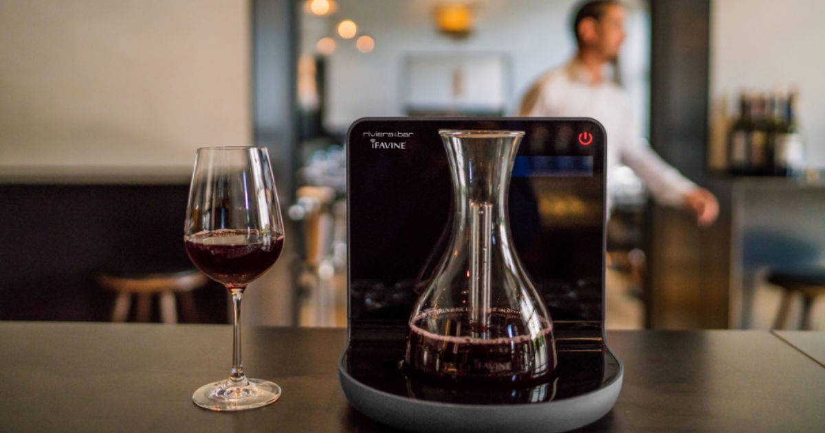 iSommelier Smart Wine Decanters – Decant Wine Quickly |