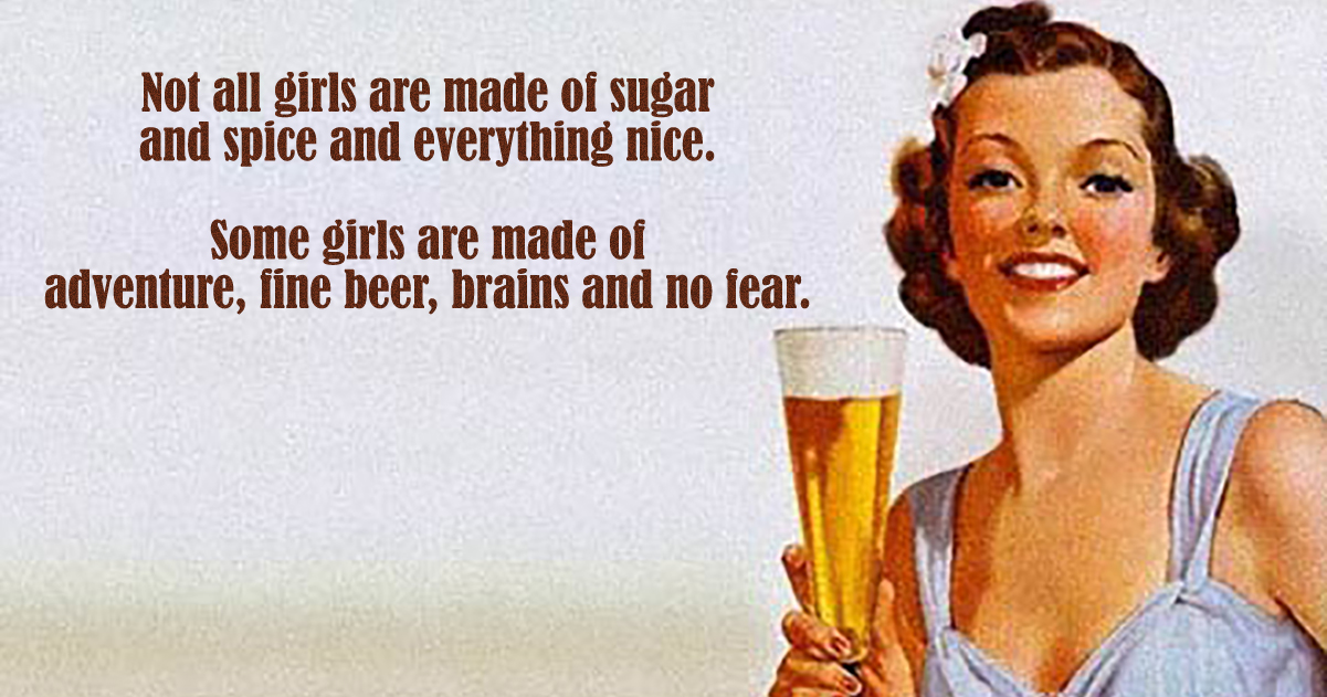 Girls Are Made Of…