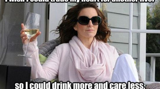Wine Meme: Drink More Care Less | Just Wine
