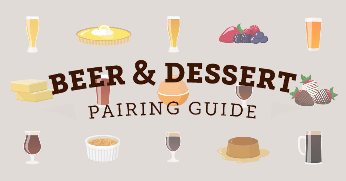 Shari's Berries Beer & Dessert Pairing Guide