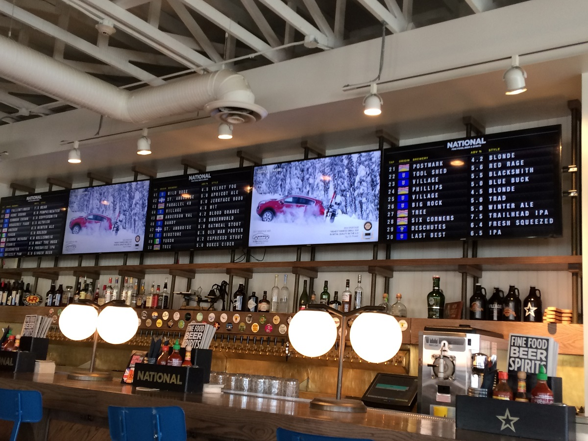REVIEW: National Beer Hall