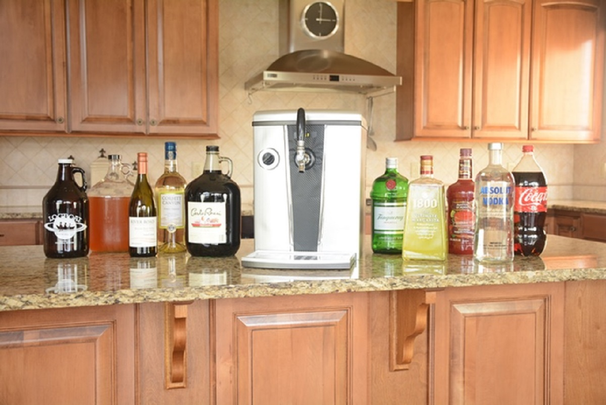 "Be Your Own Bartender with ""ProTap"" Beer and Wine Dispenser"