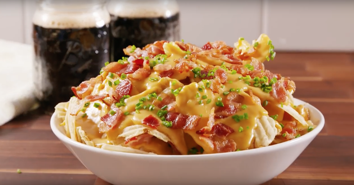 Irish Nachos with Guinness Queso Recipe