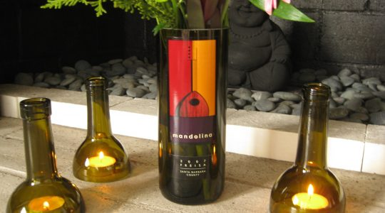 Drank All the Wine? Now Turn Your Favourite Wine Bottle Into a Beautiful DIY Vase | Just Wine