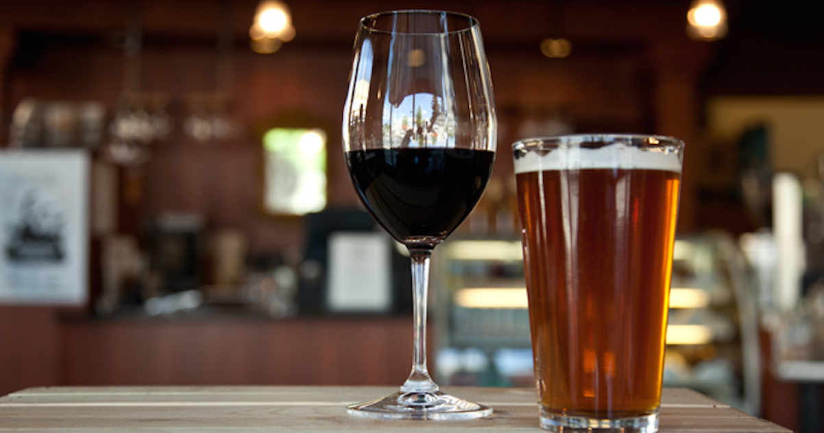 Beer & Wine The Perfect Pairing
