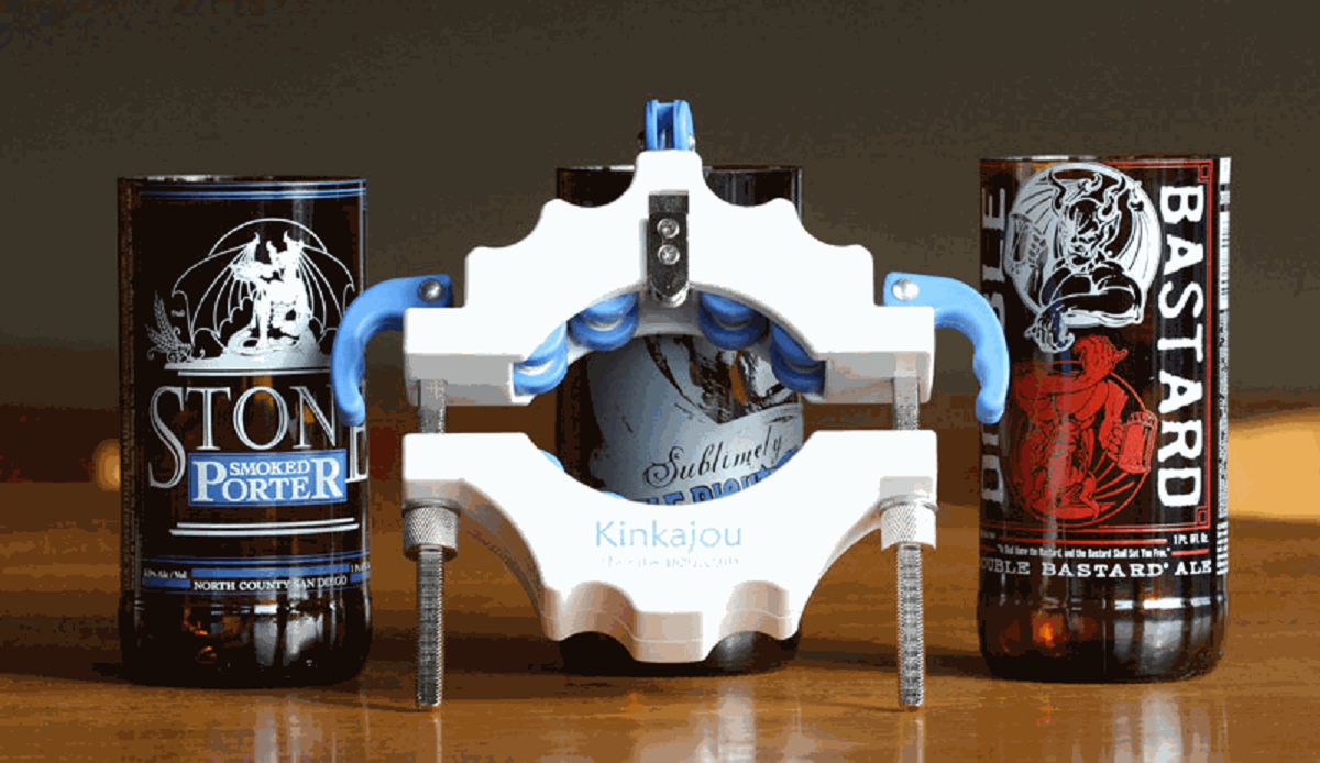 VIDEO: Kinkajou Beer Bottle Cutter