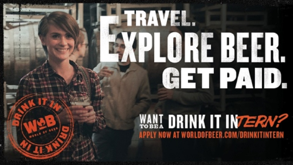 Want to Live the Dream? Be a World of Beer Intern