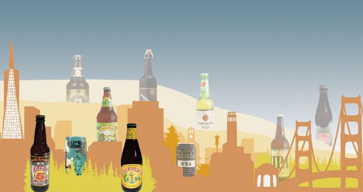 What are the four most iconic Bay Area beers?