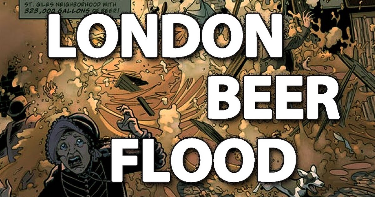 VIDEO: London Beer Flood