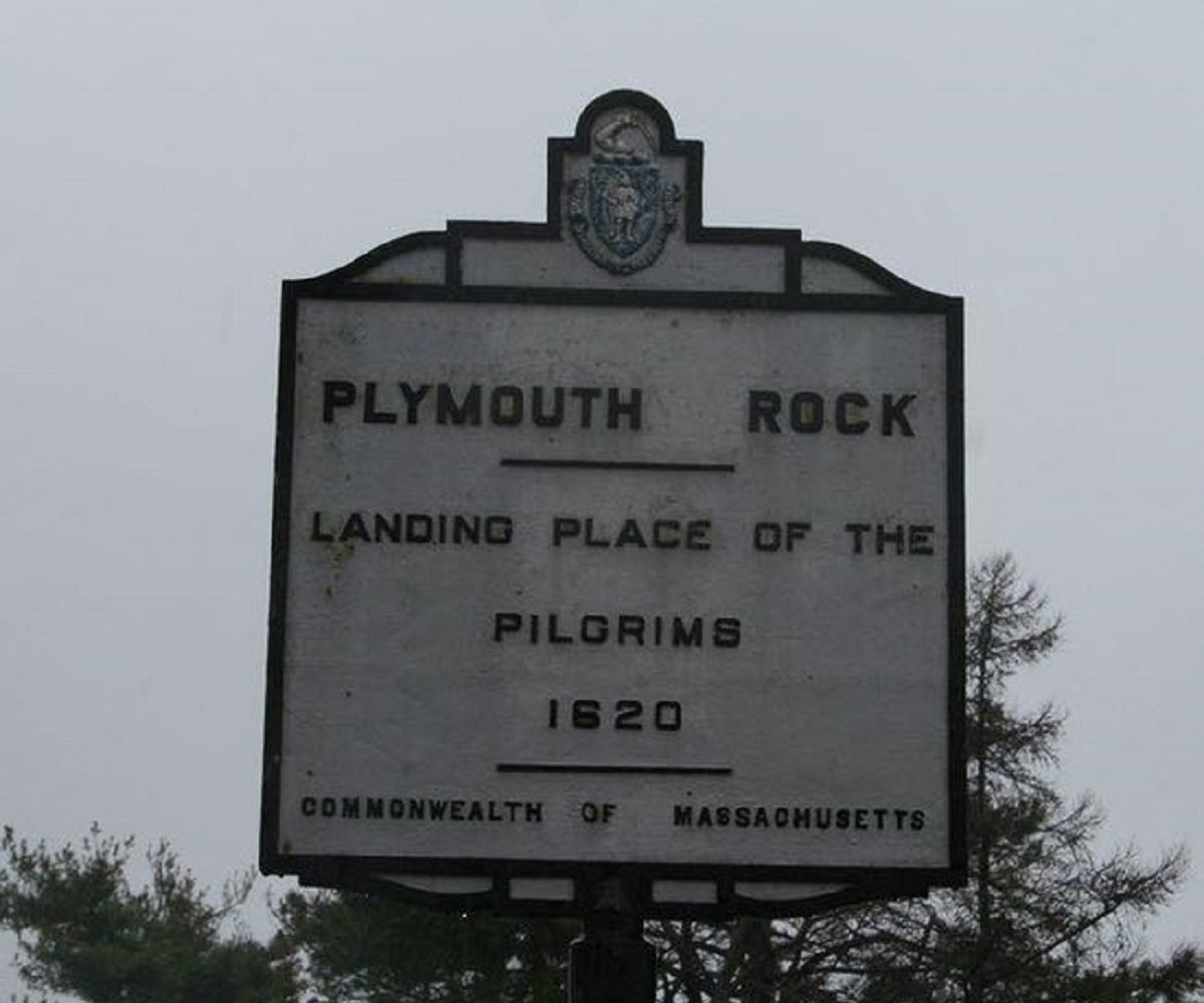 Last Stop Plymouth Rock! Everybody Out!