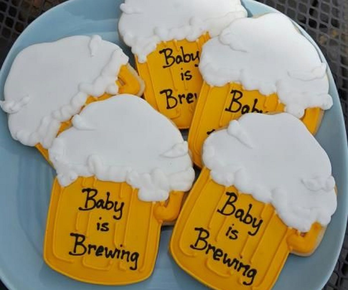 A Diaper & Beer Party AKA Baby Shower for the Dad