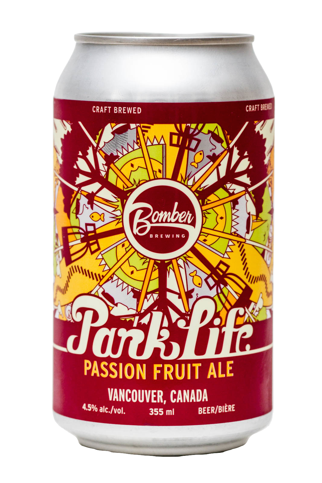 Bomber Brewing, Park Life Passion Fruit Ale