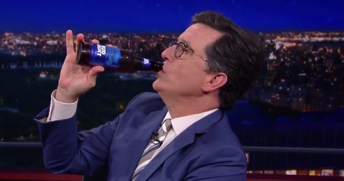 VIDEO: Bloopers and Beer on the Late Show