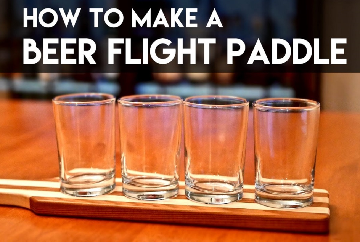 How to Make a Beer Flight Paddle