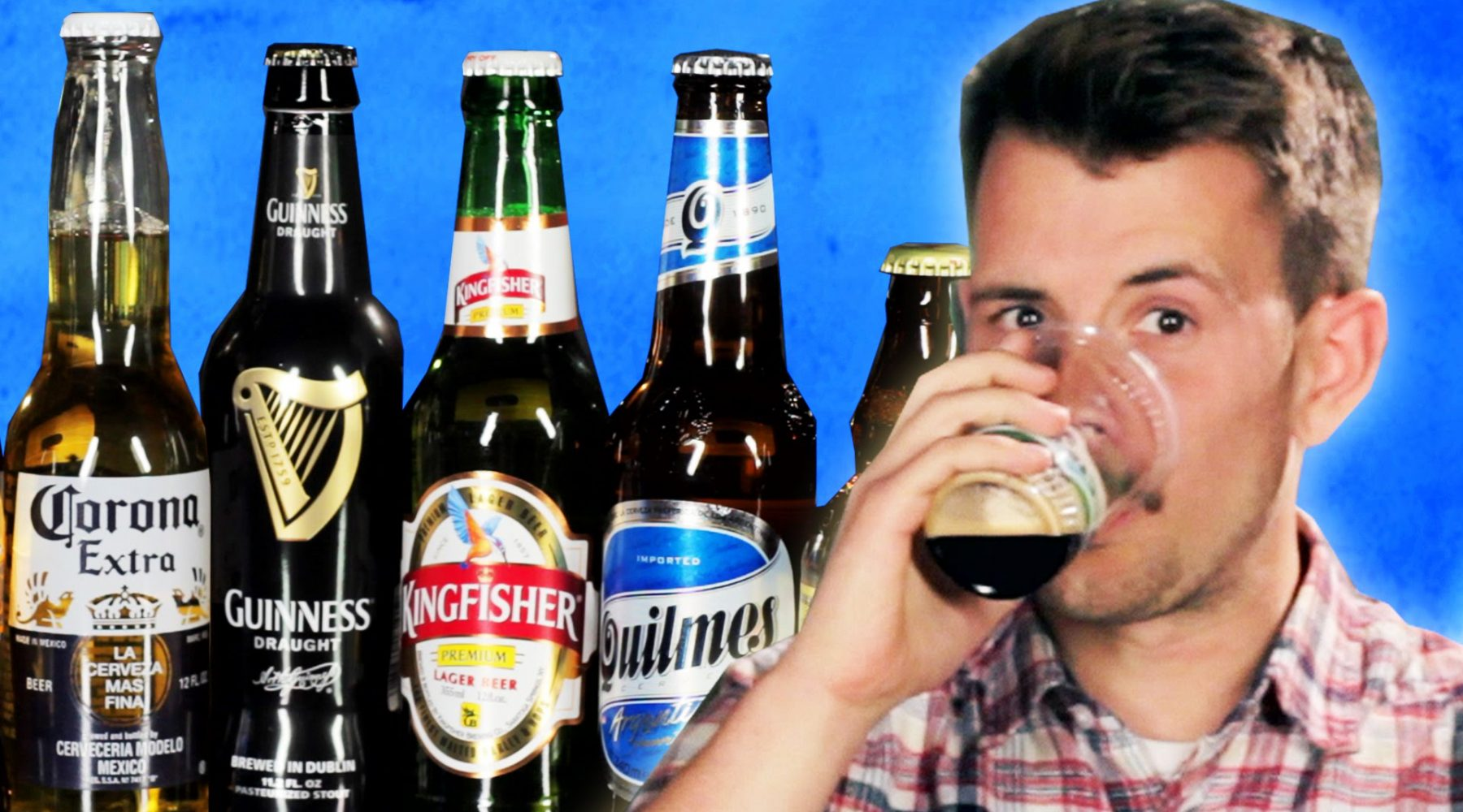 VIDEO: People Try Popular Beer From Around The World