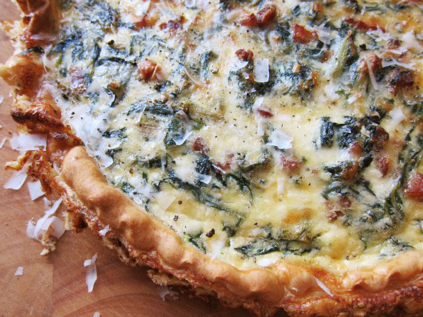 Savory Quiche for Mother's Day Beer Brunch