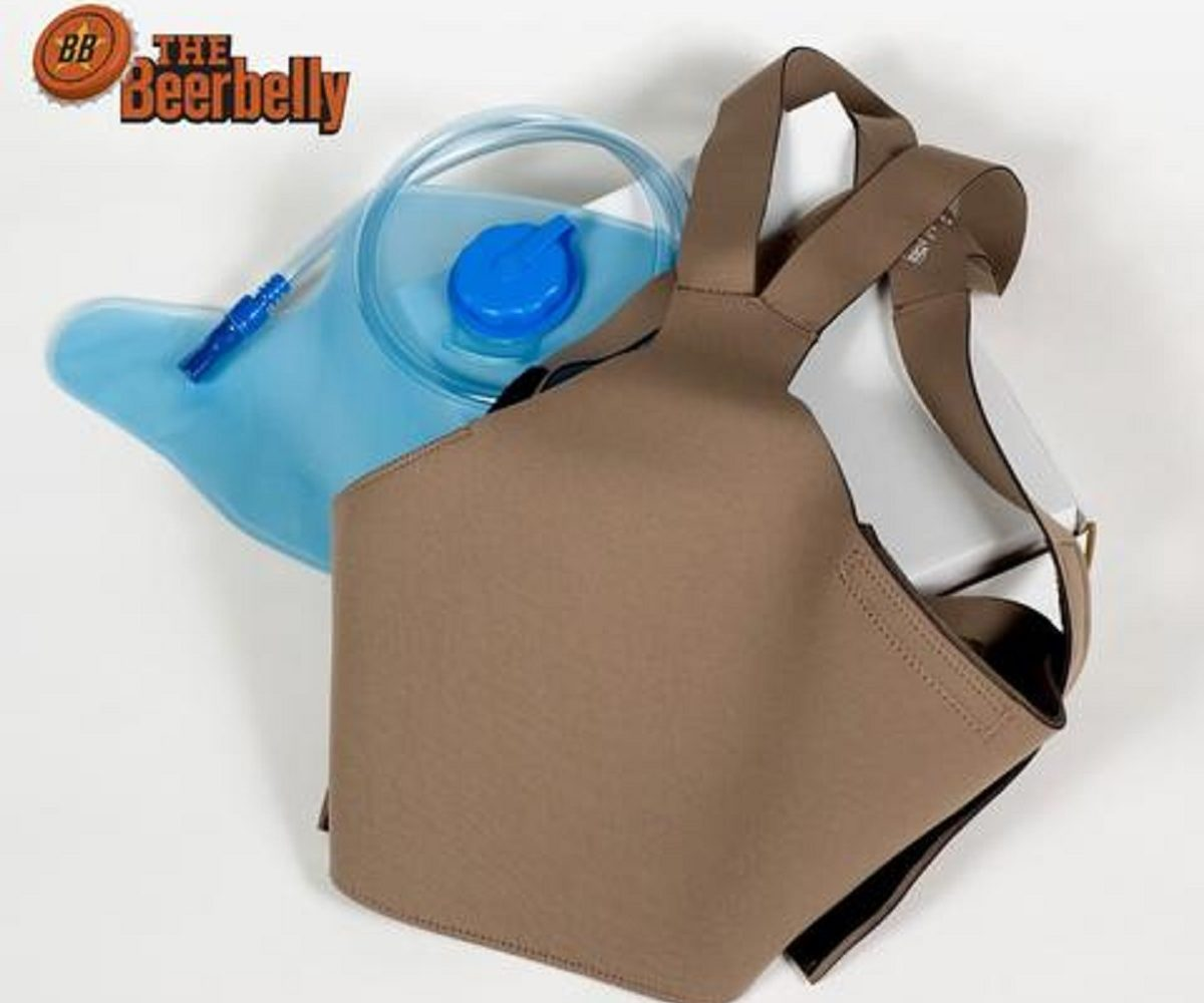 The Beerbelly Stealth Drinking System