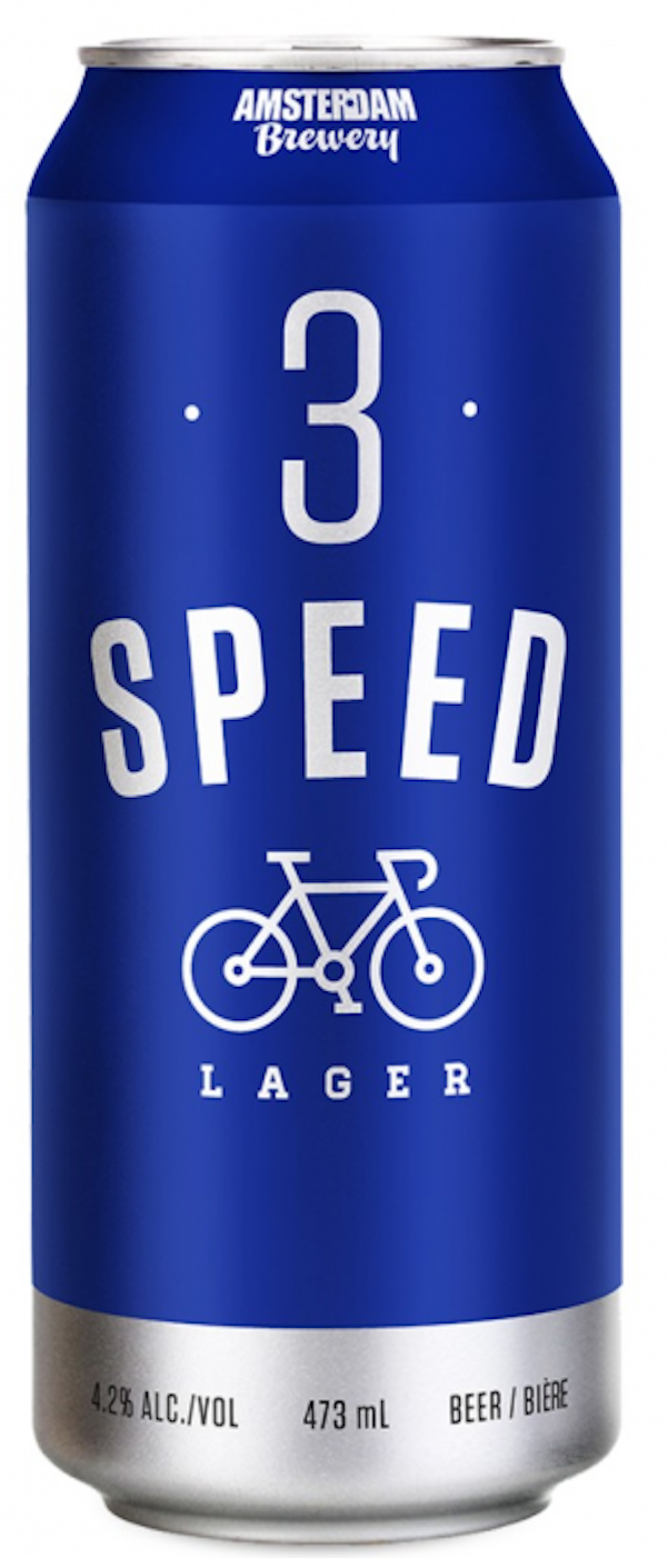 Amsterdam Brewing Company 3Speed lager. 3 speed.