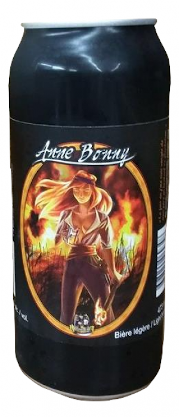 Anne Bonny Calorie Reduced Light Beer Corsaire Microbrasserie