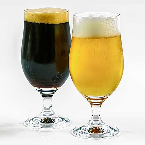 free-beer-photo-and-images-dark-vs-light-pints-lager-wheat-ale-porter-stout