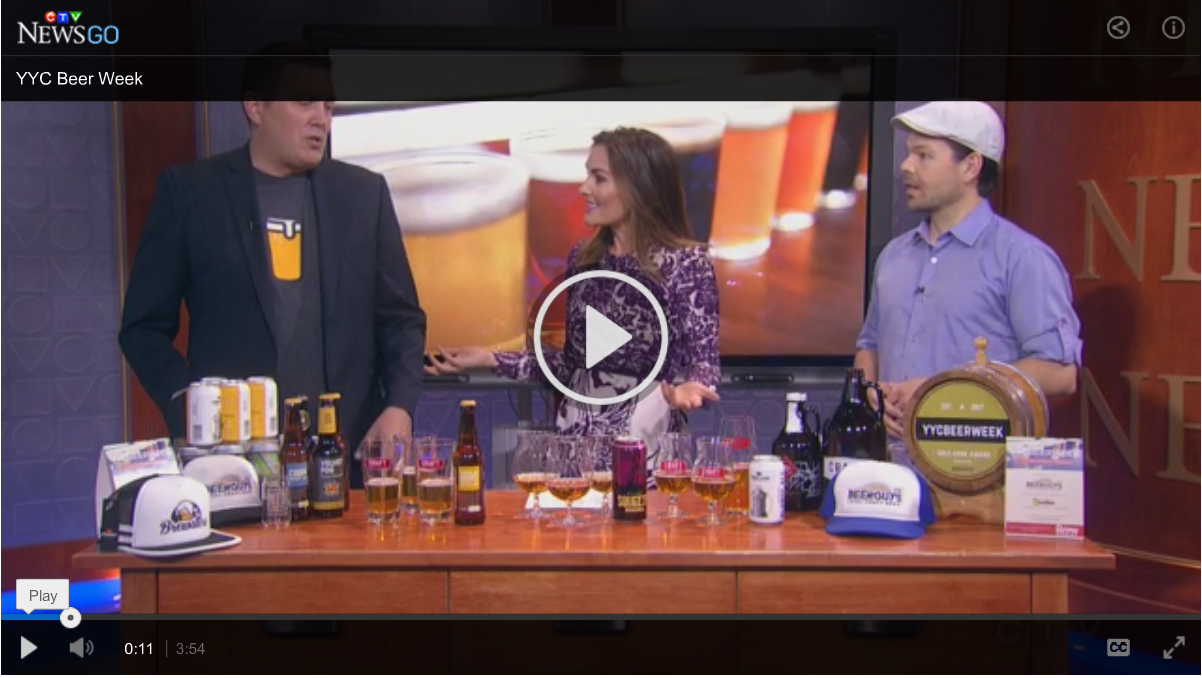 YYC Beer Week on CTV