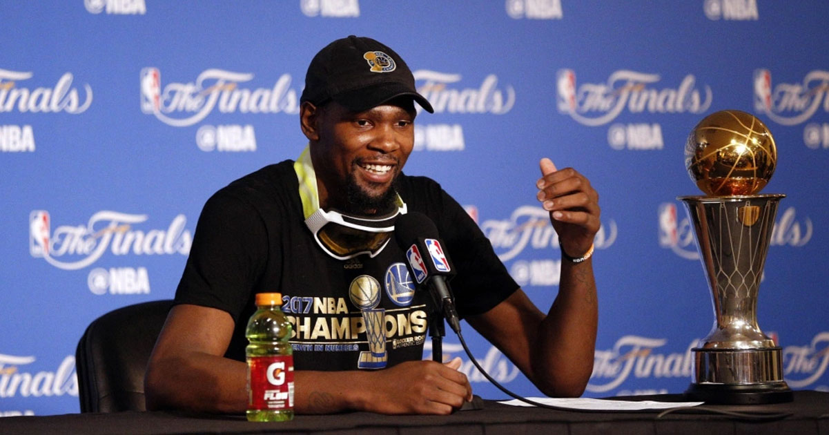 Video: Kevin Durant Beer Fail