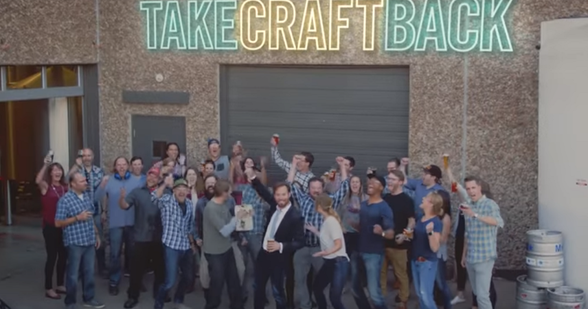 Video help the brewers association take back craft beer for Take craft beer back