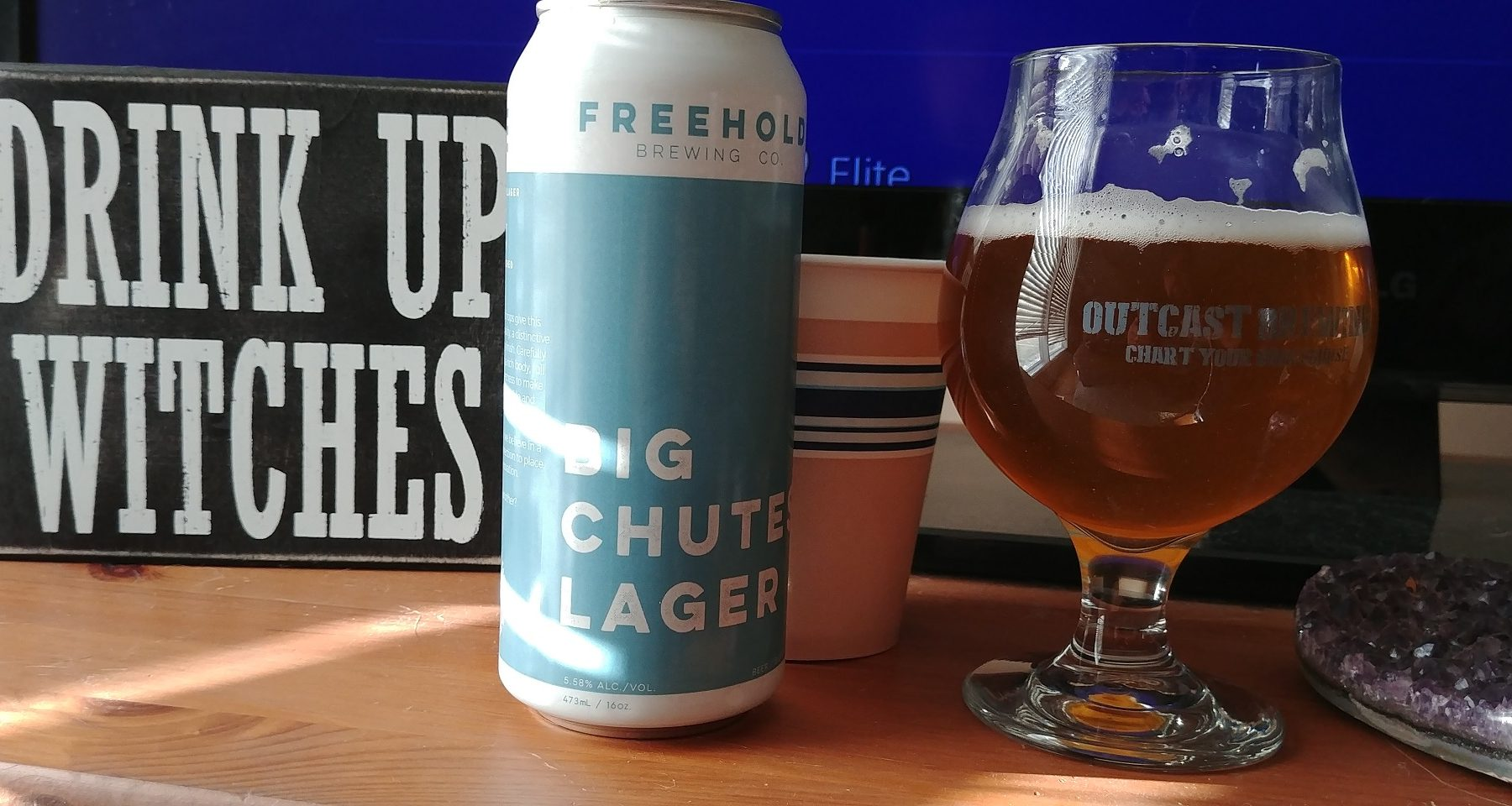 VIDEO: Freehold Brewing, Big Chutes Lager Review