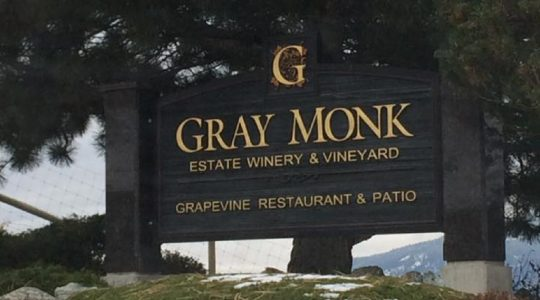 WINERY TOUR: Gray Monk Estate in the Okanagan Valley, British Columbia (BC), Canada | Just Wine