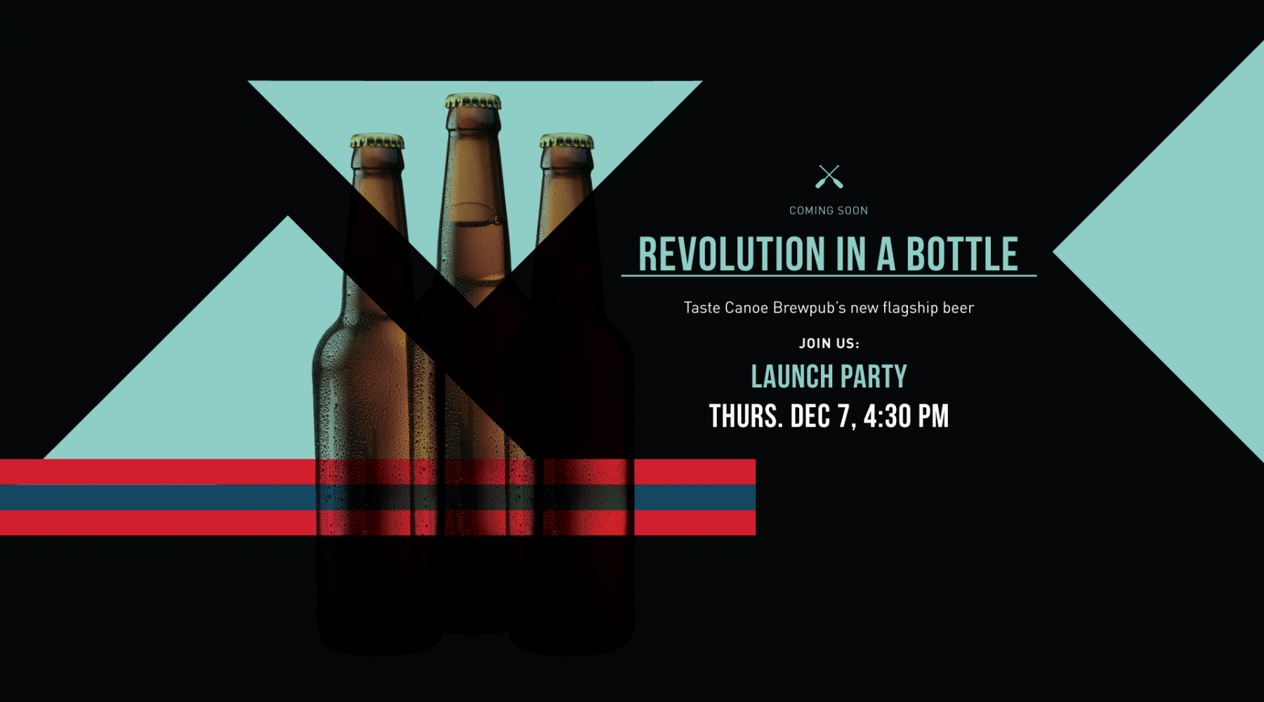 Canoe Brewpub's Revolution in a Bottle Contest