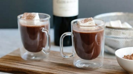 How To Make Red Wine Hot Chocolate (Without Slow Cooker) | Just Wine
