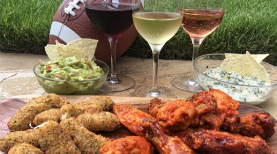 Wine & Football: Score Big With The Best Picks for Snacks & Wine On Game Day | Just Wine