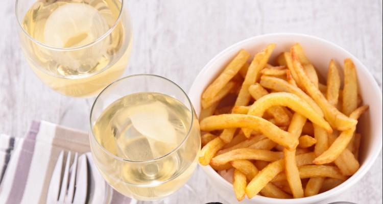 frenchfries-wine