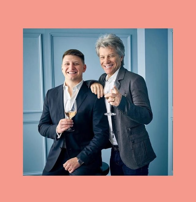 Jesse Bongiovi and Jon Bon Jovi launch rosé with with Gerard Betrand