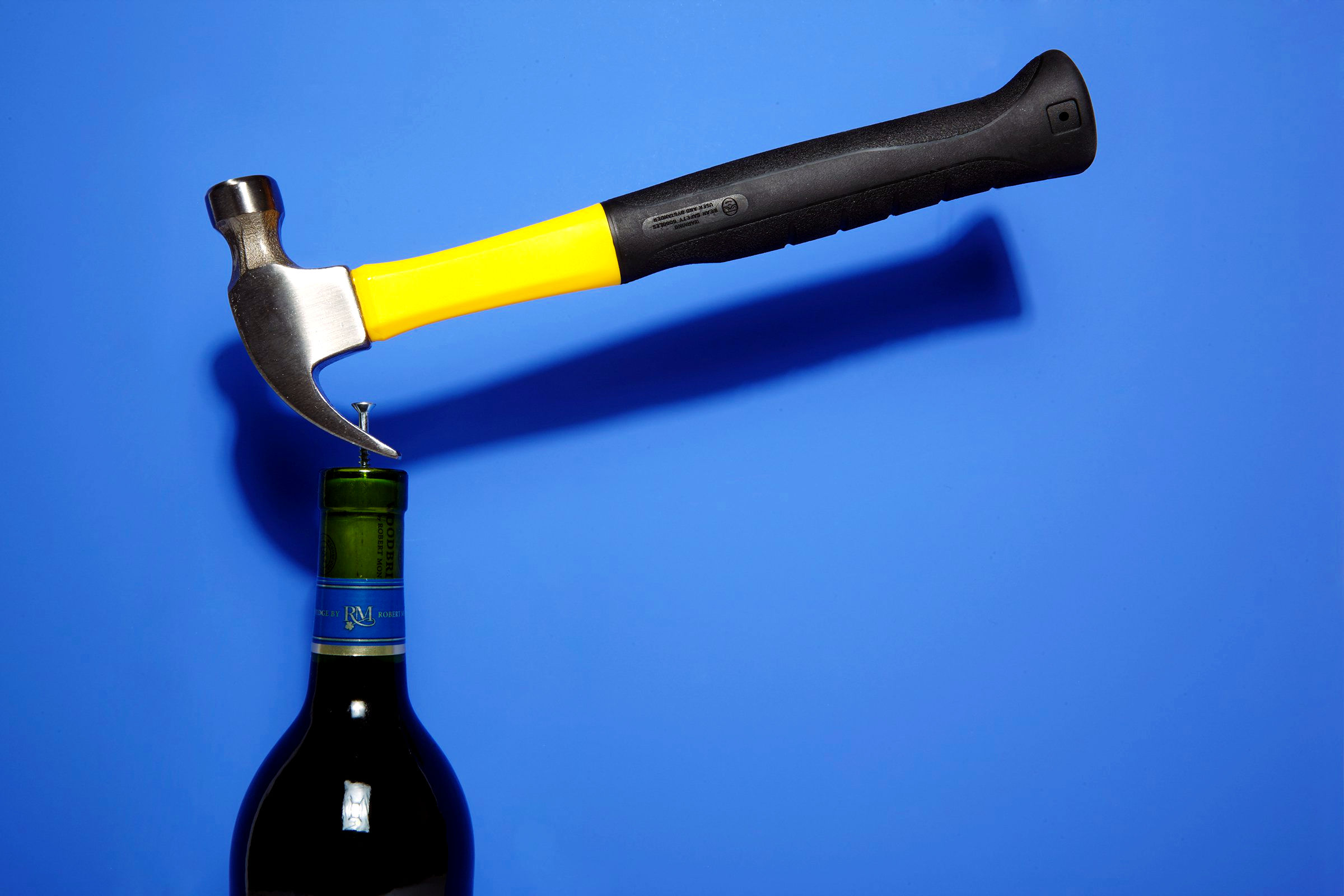 How To Open Bottle of Wine with a Hammer