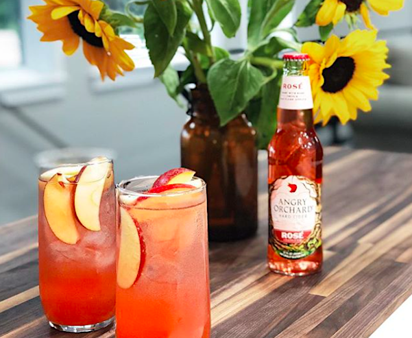 angry orchard rosé cider just released