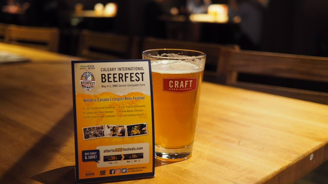 ABF Calgary International Beerfest Launch Party