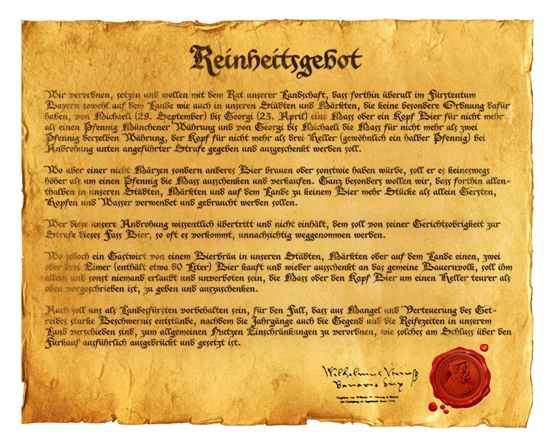 Reinheitsgebot Day: Celebrate Pure Beer