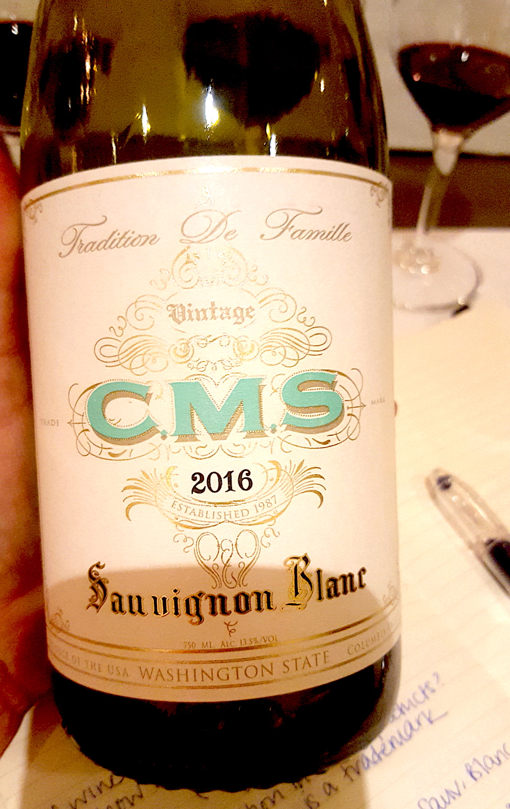 CMS White from Hedges. Source: Tracy-Lynne MacLellan