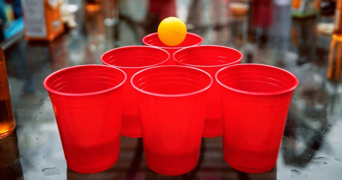 Beer Pong Drinking Game — What is it and what are the rules?