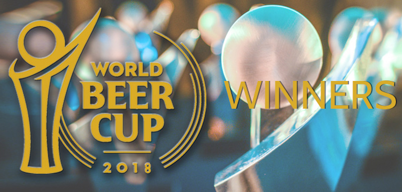 2018 World Beer Cup Winners