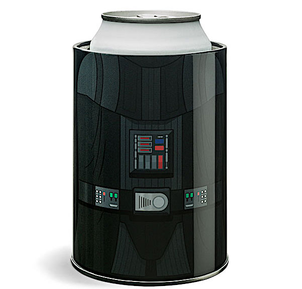 Star Wars Darth Vader drink cooler by ThinkGeek . beer koozie.