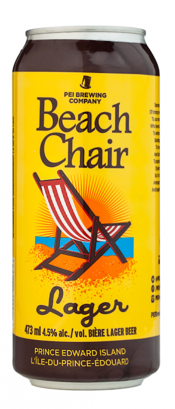 PEI Brewing Co. Beach Chair Lager